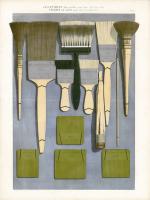 French Artists` Materials Catalogue Prints -circa 1900