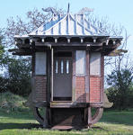 Charming Chinese Tea House circa 1890