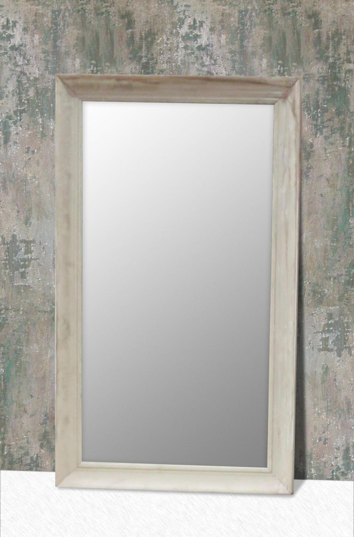 White Pine Framed Mirror