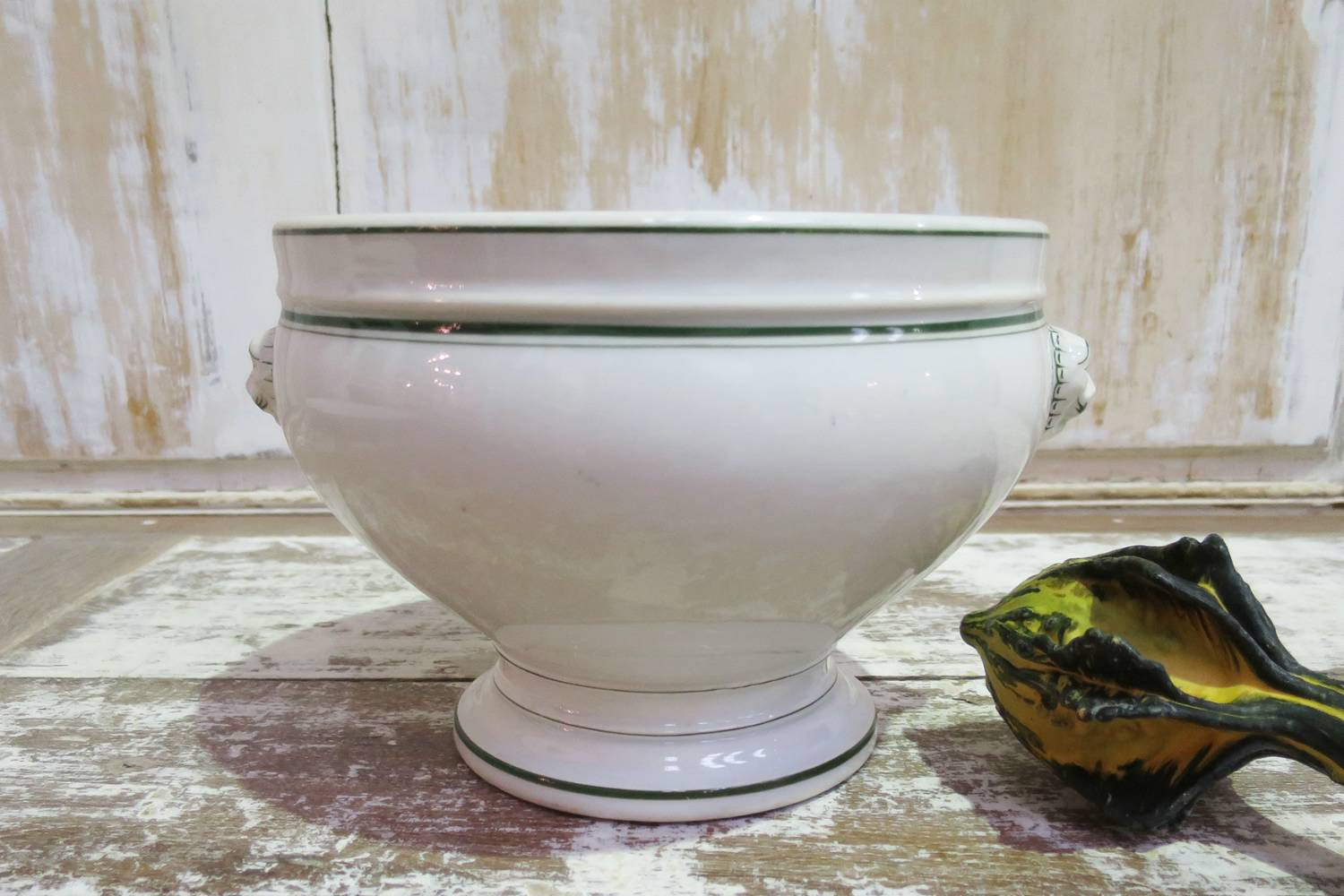 French 19th c `Bouillon` Serving Tureen