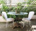 French round iron garden Table circa 1900 - picture 2