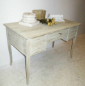 Swedish Bleached Oak Desk - picture 2