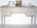 Swedish Bleached Oak Desk - picture 4