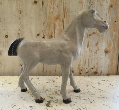 French Papier Mache Horse