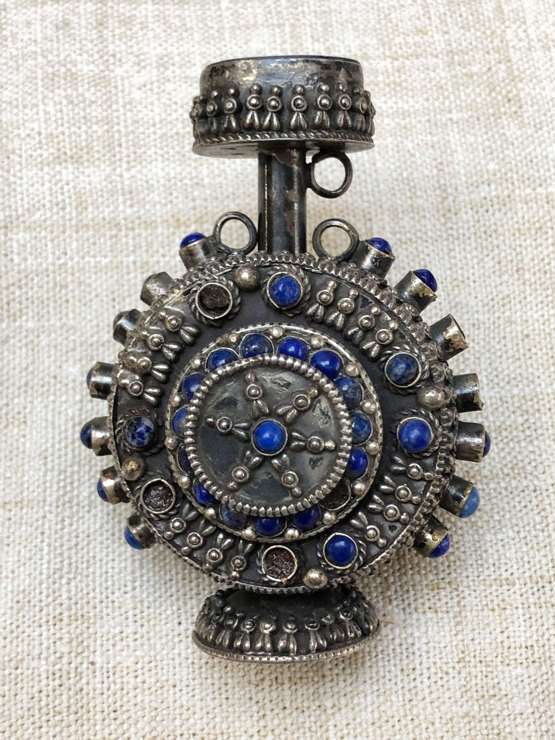 Silver Scent Bottle from Rajasthan -Circa 1900