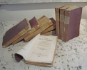 Set of 9 19th century French Purple Books - picture 2