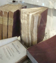 Set of 9 19th century French Purple Books - picture 6