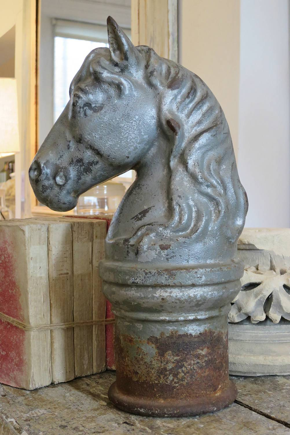 Cast iron Antique Horse`s Head
