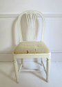 6 19th c Swedish Wheat-sheath Dining Chairs - picture 6