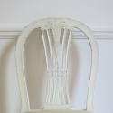 6 19th c Swedish Wheat-sheath Dining Chairs - picture 7