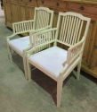 Pair of Swedish Slat-Back Armchairs - picture 2