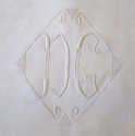 French Linen sheet Monogrammed `DG` - picture 2