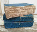 Set of 3 thick French 19th c Blue Books - picture 1