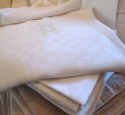 French Tablecloth and Set of 10 Napkins - picture 1