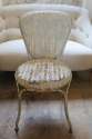 Rare Pair of French Garden Chairs - picture 2