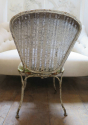 Rare Pair of French Garden Chairs - picture 6
