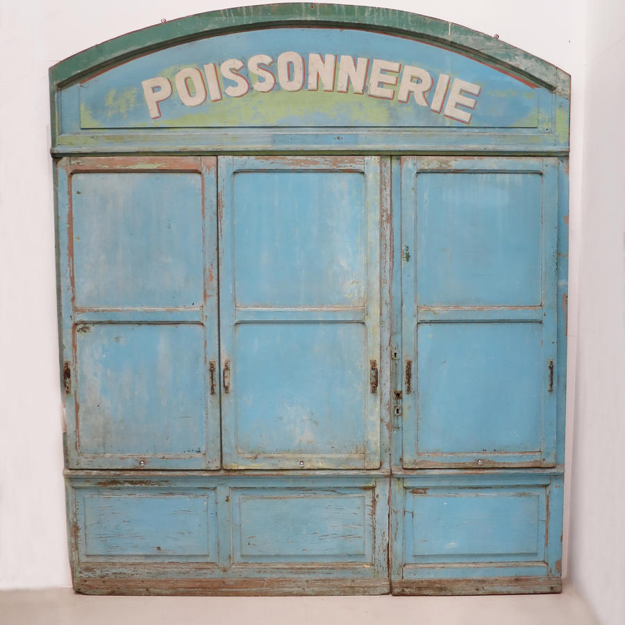 French 19th century Fish Shop Front
