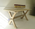 Oak Trestle Table - English circa 1930 - picture 3