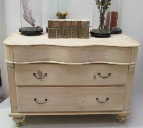 18th c Swedish Pine Chest of Drawers