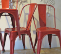 Set of 4 Tolix Chairs - picture 2