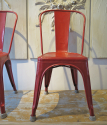 Set of 4 Tolix Chairs - picture 3