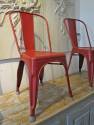 Set of 4 Tolix Chairs - picture 4