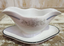 Heavy French White Sauce Boat circa 1900 - picture 2