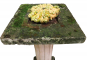 19th c French Stone Carved Bird Bath - picture 3