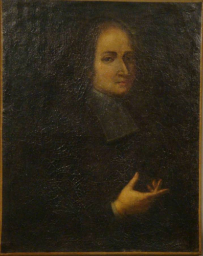 Antique French 18th century Portrait of a man