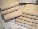 Old French Linen Sheets Monogrammed MD - picture 4