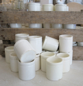 Small French Earthenware pots - picture 3