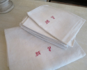Large Linen Table Cloth and Napkins - picture 2