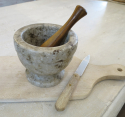 Swedish Marble Pestle and Mortar - picture 1