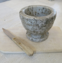 Swedish Marble Pestle and Mortar - picture 2