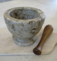 Swedish Marble Pestle and Mortar - picture 4