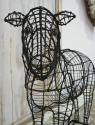 Wire Frame for Topiary in the form of a Sheep - picture 3