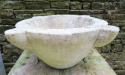 18th century white Marble Mortar & Pestle - picture 4