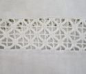Fine Linen Sheet monogrammed `MJ` - picture 5