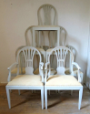 Set of 8 Swedish dining chairs - picture 1