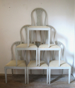 Set of 8 Swedish dining chairs - picture 2