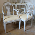 Set of 8 Swedish dining chairs - picture 3