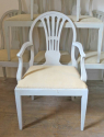 Set of 8 Swedish dining chairs - picture 5