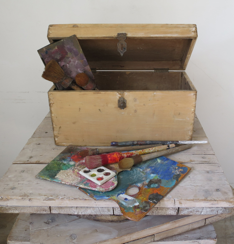 19th century French Artists Box