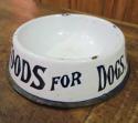 English Enamel Dog Bowls - irresistible! - picture 2