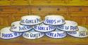English Enamel Dog Bowls - irresistible! - picture 3