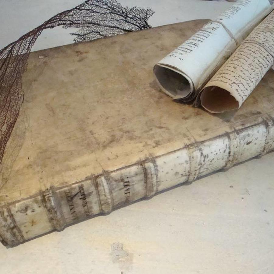 17th century Vellum Book
