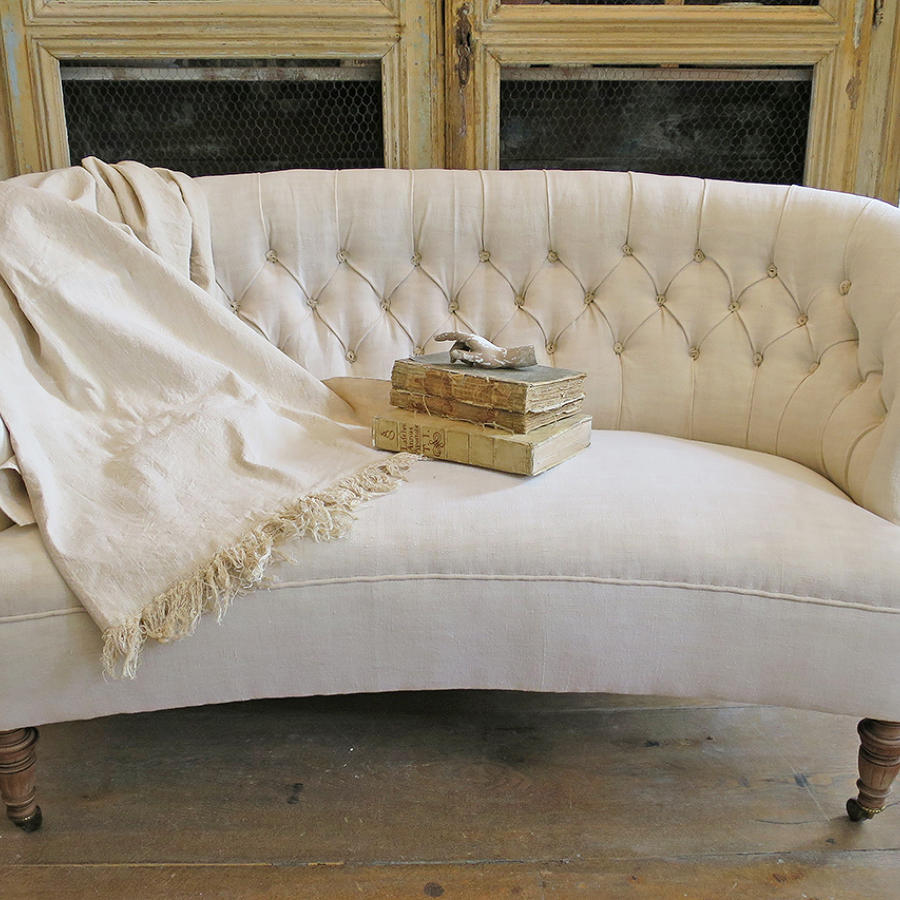 Curved Swedish Sofa
