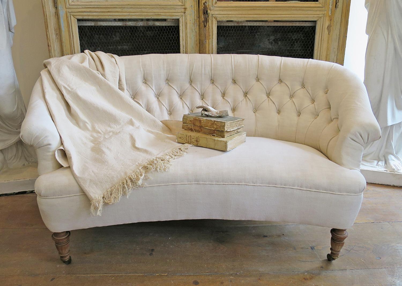 Curved Swedish Sofa