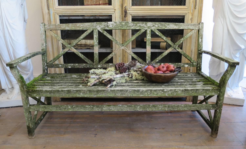 Neo-Classical Garden Bench