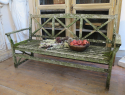 Neo-Classical Garden Bench - picture 2